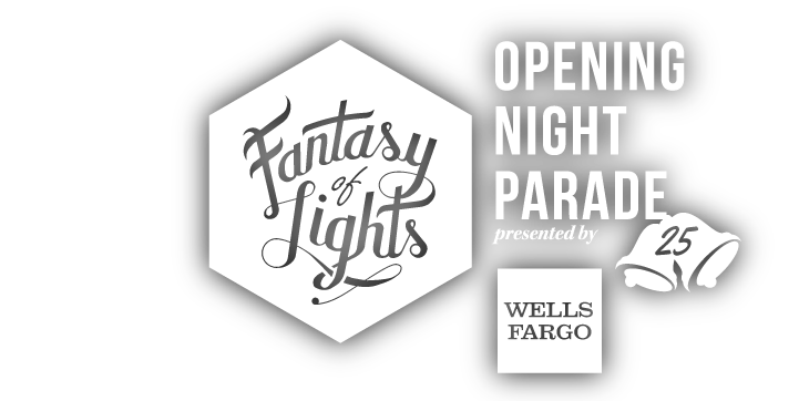 Nov 29th - Fantasy of Lights Opening Night Parade